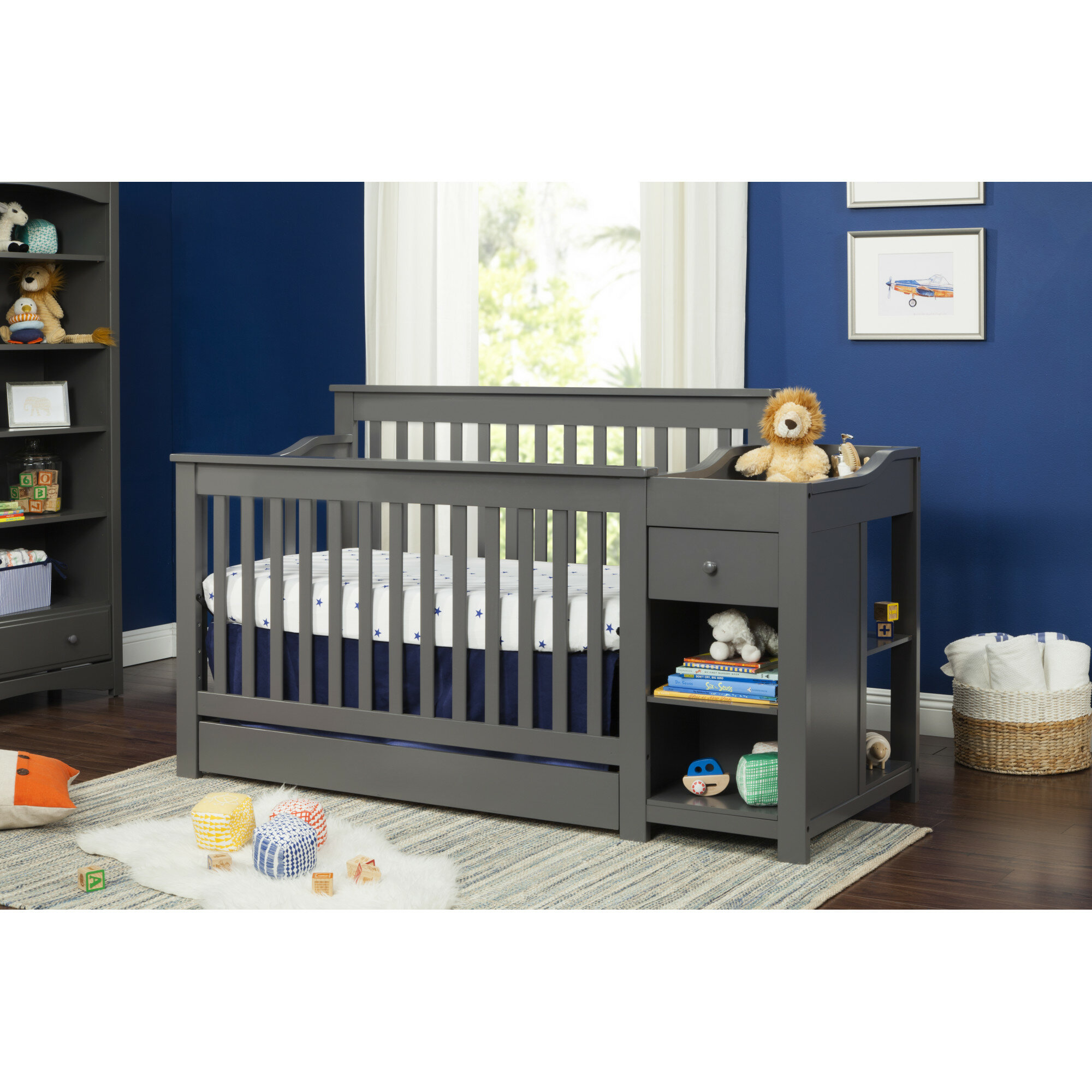 l side and for changer shop baby imagio changing crib the in fixed montville best cribs deals oct combo