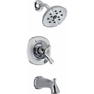 Great choice Addison Pressure Balance Diverter Tub and Shower Faucet Trim with Lever Handles and Monitor By Delta