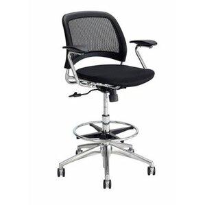 rve series midback mesh drafting chair