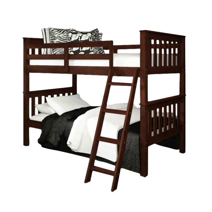 Donco Kids Twin Bunk Bed - Donco Kids Donco Kids Twin Bunk Bed & Reviews Wayfair