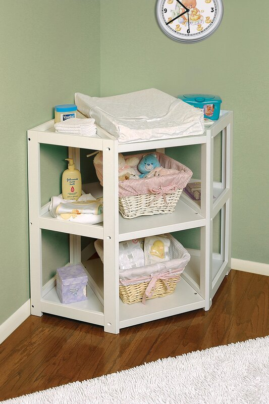 High Quality Hayley Diaper Corner Baby Changing Table