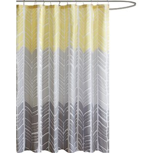 Yellow Gold Shower Curtains