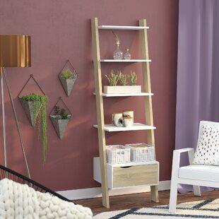 Mateer Ladder Bookcase Langley Street Top Reviews