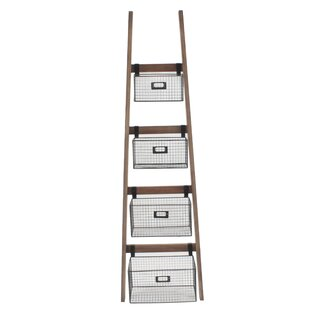 Tallulah Wall Shelf Ladder Bookcase Gracie Oaks
