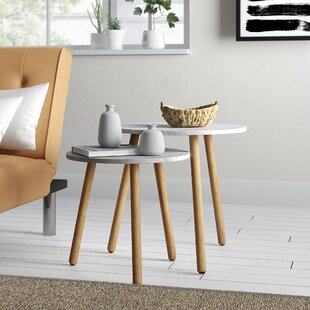 Scandinavian Nesting Tables Youll Love In 2019 Wayfairca