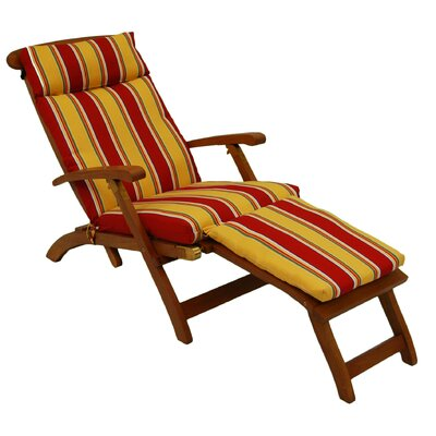 All-Weather UV-Resistant Indoor/Outdoor Chase Lounge Cushion Fabric: Cinnamon
