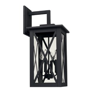 Deals Aticus 4-Light Outdoor Wall Lantern By Alcott Hill