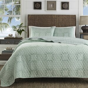 Tranquil Trail Cotton Quilt Set By Tommy Bahama Bedding