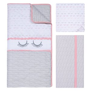 Be Happy 3 Piece Crib Bedding Set