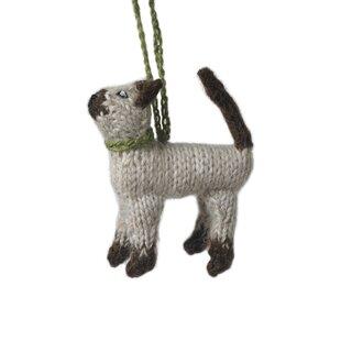 Siamese Cat Ornament Wayfair