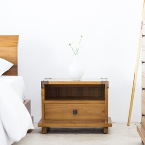 Woodcock 1 Drawer Nightstand by Brayden Studio