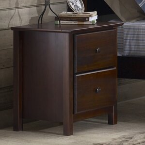 Shaker 2 Drawer Nightstand by Grain Wood Furniture