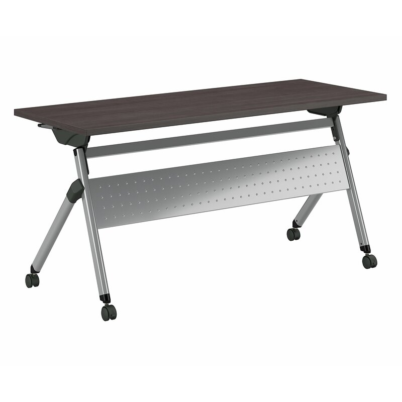 Bush Business Furniture Training Table With Caster Wheels Wayfair