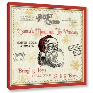 North Pole Express Graphic Art on Wrapped Canvas