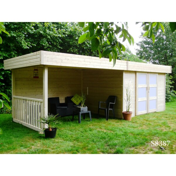 Solid timber products ltd superia 23 x 9 ft summerhouse reviews - Cabane jardin berchet tourcoing ...