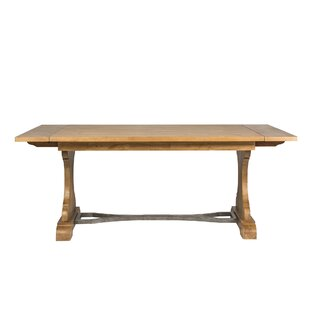 Great Price Bleau Trestle Dining Table By Lark Manor