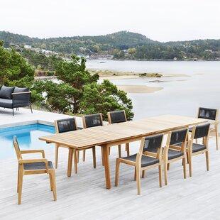 Skagen 9 Piece Extendable Dining Set by OASIQ
