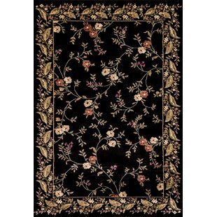 Black Floral Rugs You Ll Love Wayfair
