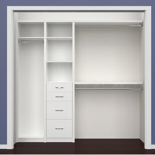 New Style SpaceCreations 52 W - 87 W Closet System By ClosetMaid