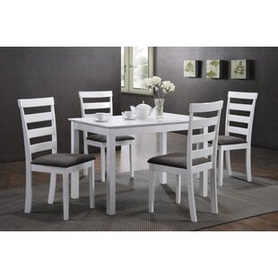 Arturo Ladder Back 5 Piece Dining Set By Alcott Hill