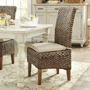 Woven Seagrass Side Chairs Set Of 2