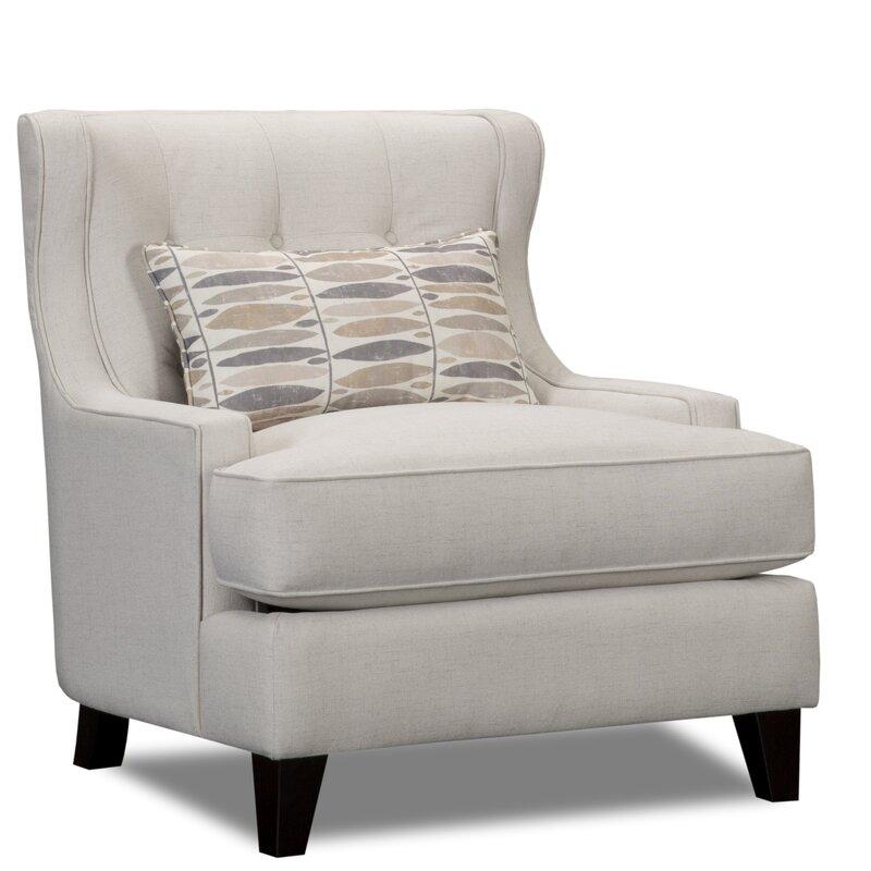 Great Carson Wingback Armchair