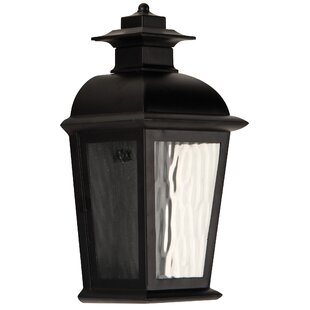 Reviews Staggs 1-Light Outdoor Wall Lantern By Red Barrel Studio