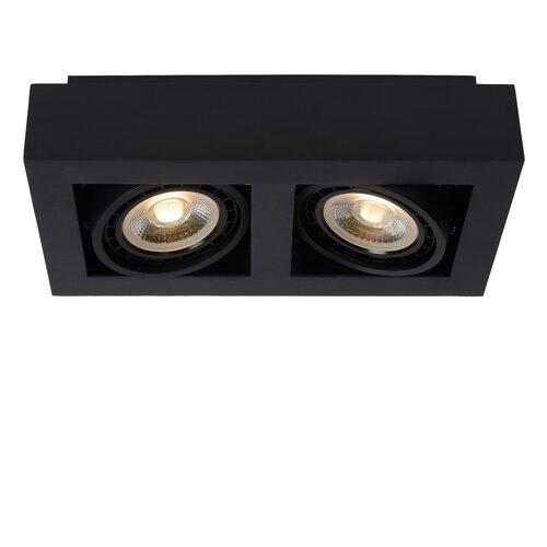 Zefix 2-Light 34cm Ceiling Spotlight Lucide Finish: White