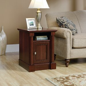 Three Posts Westchester End Table With Storage� Image