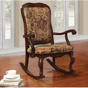 Lebow Rocking Chair Astoria Grand