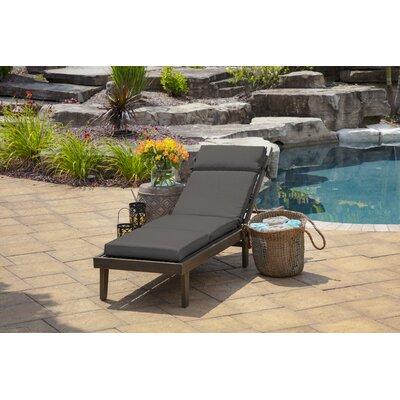 Birchlaneadelia Texture Outdoor Chaise Lounge Cushion Fabric Gray Dailymail