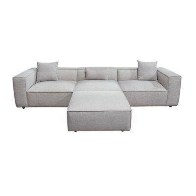 Diamond Sofa Vice Reversible Sectional