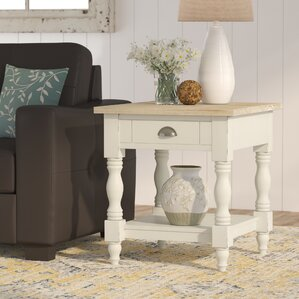 Abby Ann End Table With Storage by August Gr..