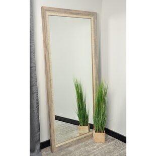 Modern bathroom mirrors allmodern weathered beach leaning wall mirror solutioingenieria Images