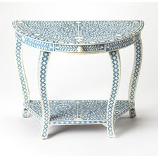 Elayna Demilune Console Table by Bungalow Rose