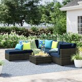 Barwick 6 Piece Sectional Seating Group with Cushions bySol 72 Outdoor