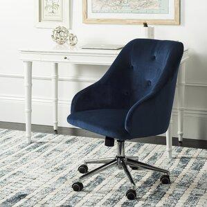 rashida tufted swivel midback desk chair
