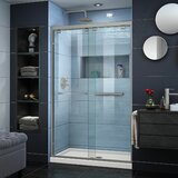Encore 48 x 78.75 Shower Door with Base Included byDreamLine