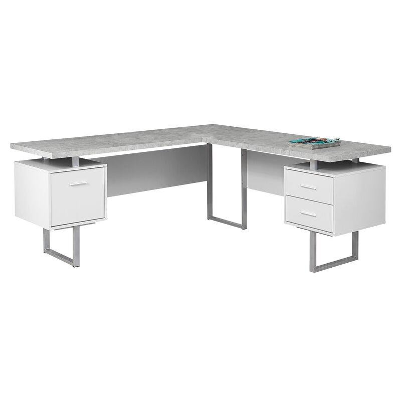 the best attitude d68e9 2356d Sova 3 Drawer L-Shape Corner Desk