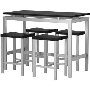 Swigart 5 Piece Pub Table Set