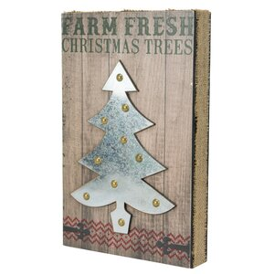 Farm Fresh Christmas Trees Wall Du00e9cor