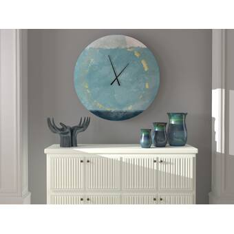 East Urban Home Mindenmines Wall Clock Wayfair