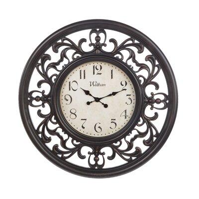 Oversized Kensa 30 Wall Clock Fleur De Lis Living Shefinds