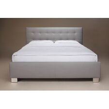 Jai Upholstered Platform Bed by Wade Logan