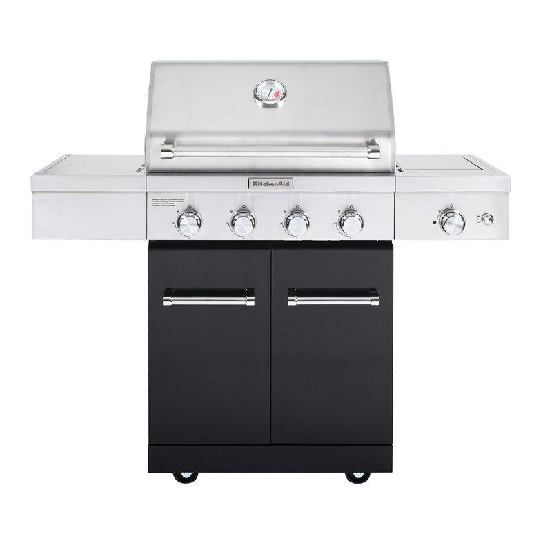 Kitchenaid 4 Burner Liquid Propane Gas Grill 720 0954a