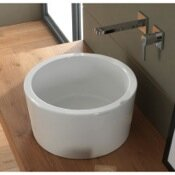 Compare Bucket Ceramic Rectangular Vessel Bathroom Sink By Scarabeo by Nameeks