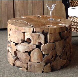 Bulger Teak Coffee Table Foundry Select Good stores for