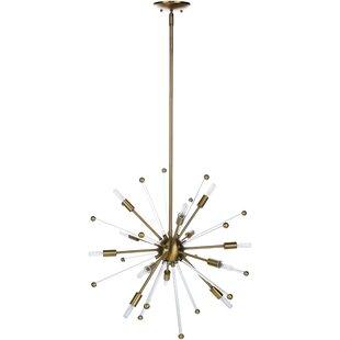 Best Backer Modern 12-Light Sputnik Chandelier By Ivy Bronx