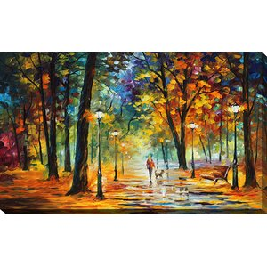 Improvisation of Nature by Leonid Afremov Painting Print on Wrapped Canvas by Picture Perfect International