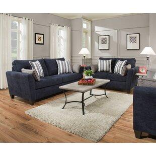 Eaker 3 - Piece  Living Room Set by Charlton Home®